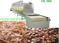 Fully Automatic Feed Microwave Dryer  Seafood Microwave Drying Equipment, Food Drying Machine